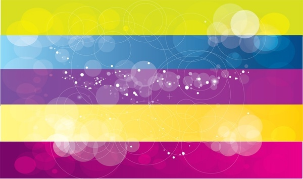 colorful background design abstract bokeh horizontal style