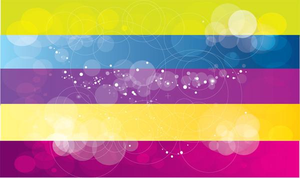 multi color vector background