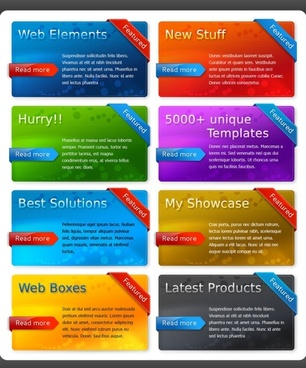 multicolor decoration page module psd