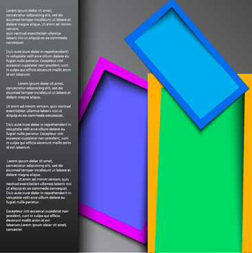 multilayer style business background vector