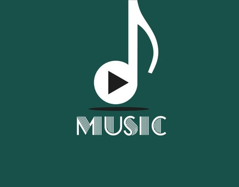 music background white vertical note symbol design