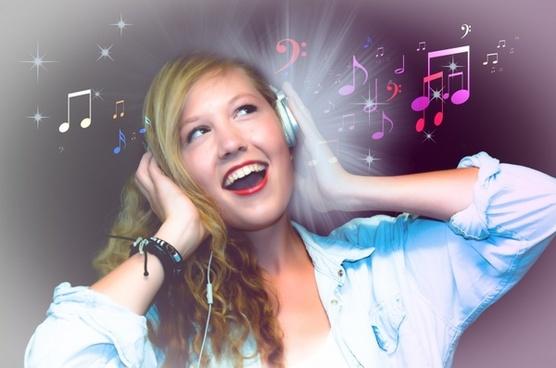 music headphones listen
