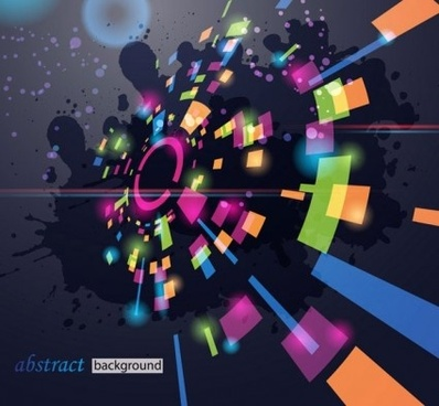 music party abstract background illustration vector