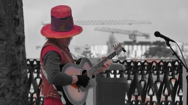musician street musicians entertainment