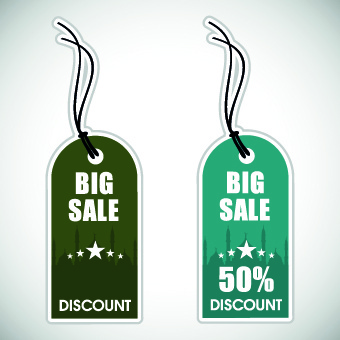 muslim style discount tag vector
