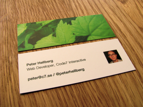 my new moo cards arrived
