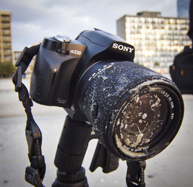 my sandy sigma lens