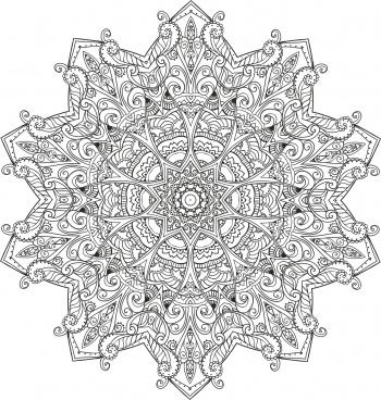 myst mandala cdr vectors art