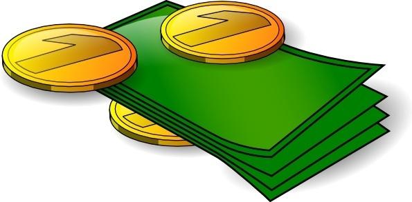 N Kamil Money Banknotes And Coin clip art
