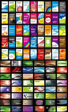 name a variety of card background vector
