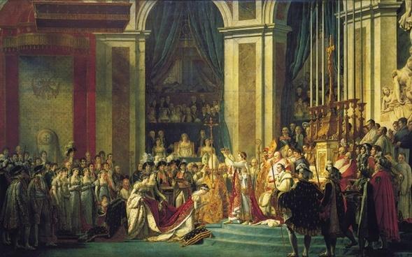 napoleon coronation king