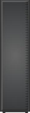 Narrow Server Rack clip art