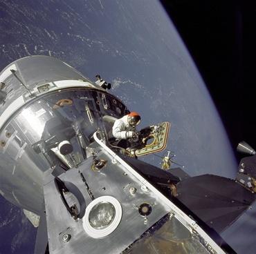 nasa astronautics earth