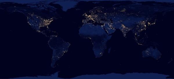 nasa earth map