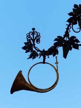 nasal shield horn post horn
