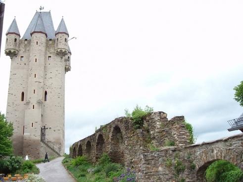 nassau castle castle wall