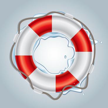 natant circle art free vector icon