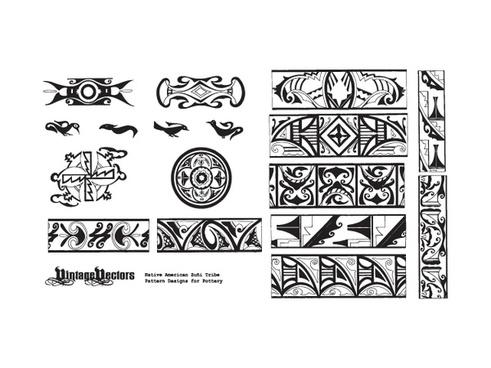 Native American Pottery Patterns