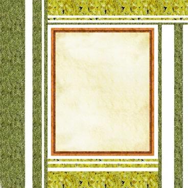 natural background frame
