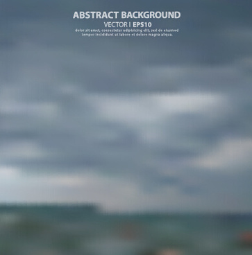 natural scenery blurred background vector