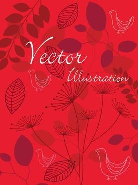 natural vector illustration line draft 04 vector