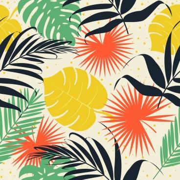nature background colorful leaf pattern decor