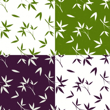 nature background leaves icons colored effect square isolation