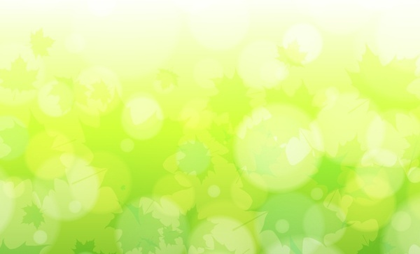 abstract background dazzling green bokeh decor