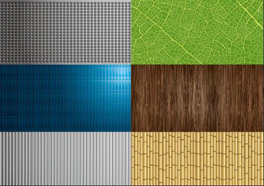 nature elements patterns vector