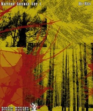 Nature Grunge Set 1