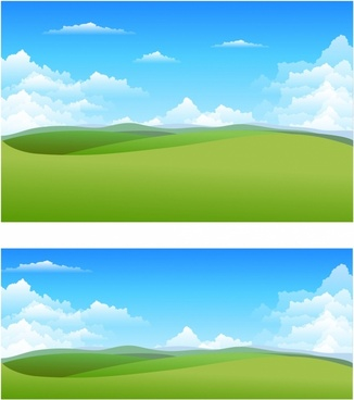 Nature landscape backgrounds