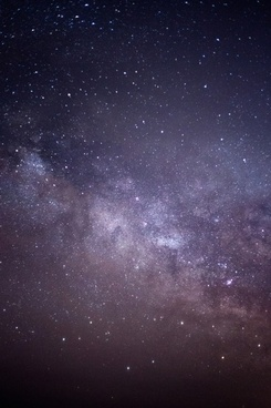 nature milky way night stars galaxy sky