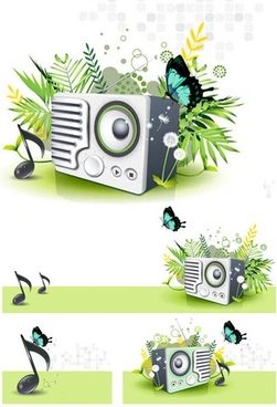 nature of the music vector