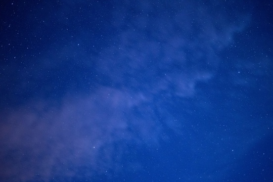 nature stars sky clouds space night summer