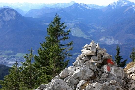 naunspitze tyrol alpine