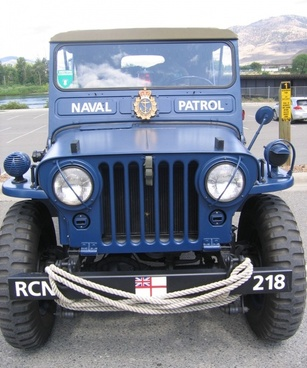 naval jeep