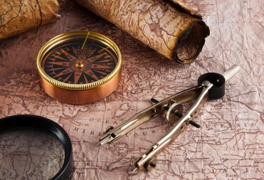 navigation map and the compass 01 hd figure goods ah