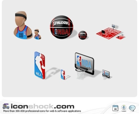 NBA Icons icons pack