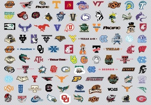 NCAA Men's Basket Logos Pt2