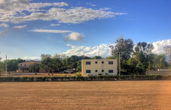 near the base camp and air strip in pignon haiti