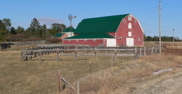 nebraska farm landscape