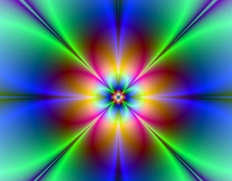 neon daisy