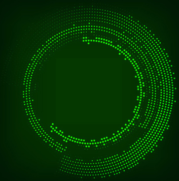 neon effect abstract background vector