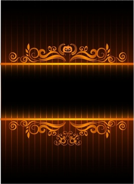 Neon Halloween Frame