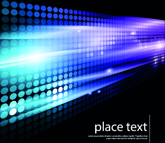 neon light abstract background vector