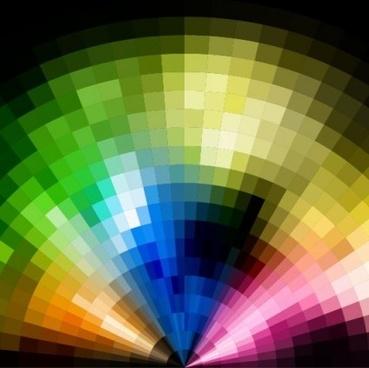 neon light blurs background vector