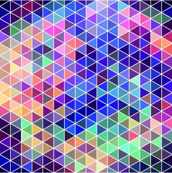 neon pattern background vector