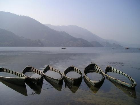 nepal boats see
