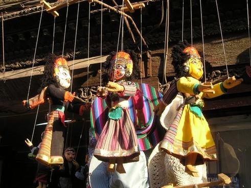 nepal dolls figures