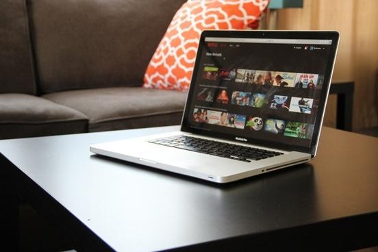 netflix on macbook laptop